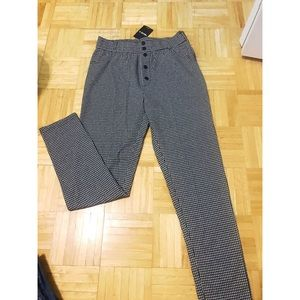 NWT forever 21 plaid high rise pants